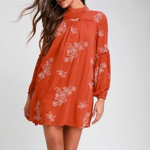Lulu's NWT Boho Dress - UT Longhorns Dress!